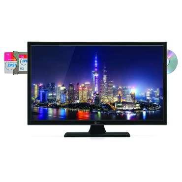 """TV 19"""" AVEC DVD AVEC CARTE FRANSAT"""