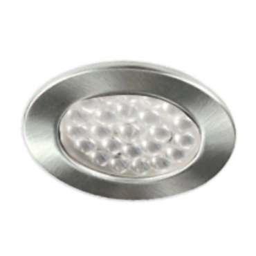 Spots encastrables Fixes Chromé mat 24 LED