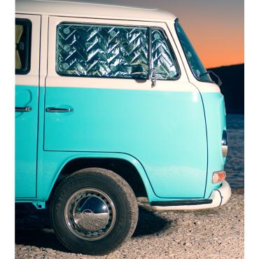 "Tapis de camping-car ARISOL Coco ""I love Caravane"""