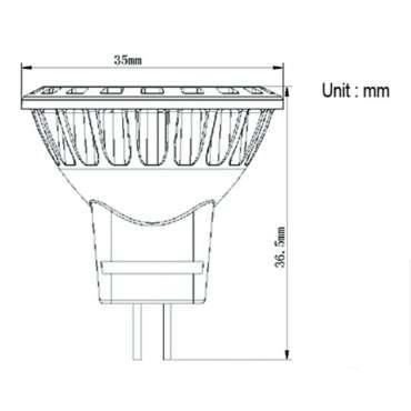 Store FIAMMA F35 PRO 2,5m - Titanium Gris